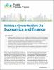 Building a Climate-Resilient City: Economics and finance
